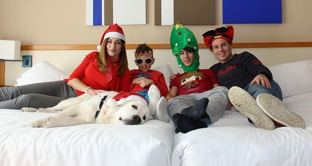 rodinné vánoce