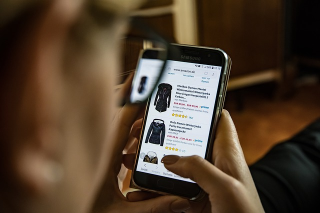 online nákup přes mobil