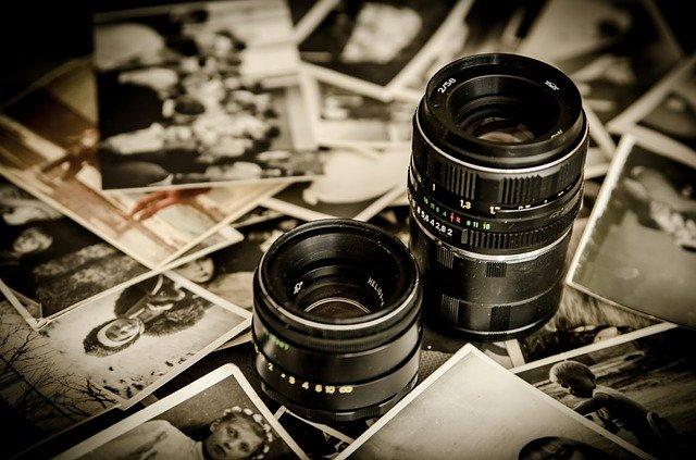 objektviy na fotkách
