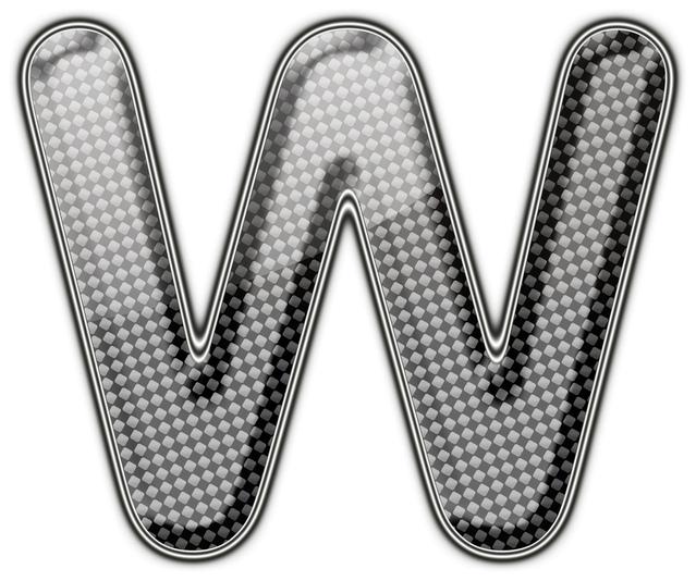 """Dvojité W symbolizující anglické slovo """"Word"""""""