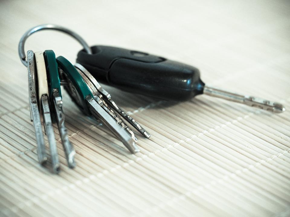 klíčky od auta